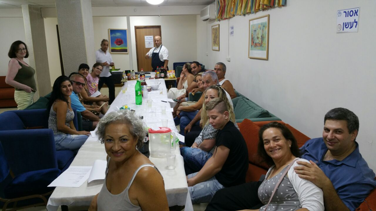 חוויות מסדנת סושי בהדרכת השף מאור כהן לחברי שלוחת אילת